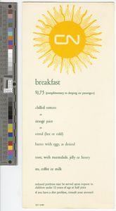 Breakfast, 1964