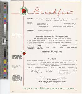 Breakfast, 1962