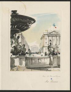 Menu: Paris, France to New York