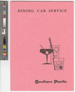 Dining car service, 1962