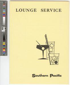 Lounge service, 1962