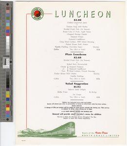 Luncheon, 1962
