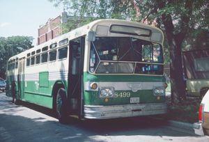 8499, Monticello & Cornelia, Fingerprint bus, FLX F2 D-40, 1986-08-09